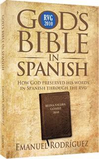 God's Bible in Spanish, front cover.
